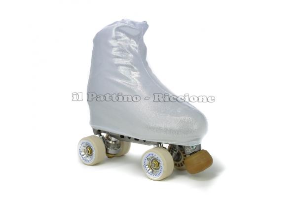 Cubre patines color plata