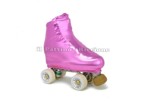 Cubre patines color fucsia metal