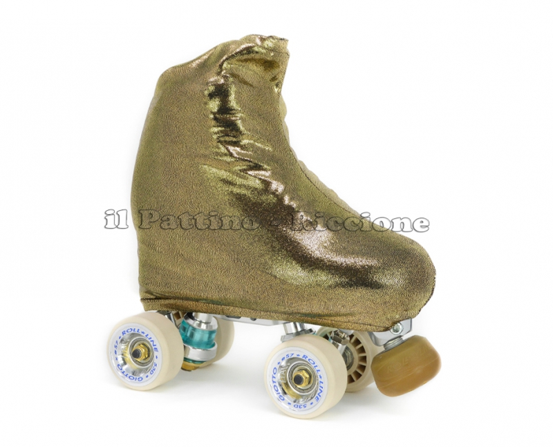 Cubre patines color oro oscuro