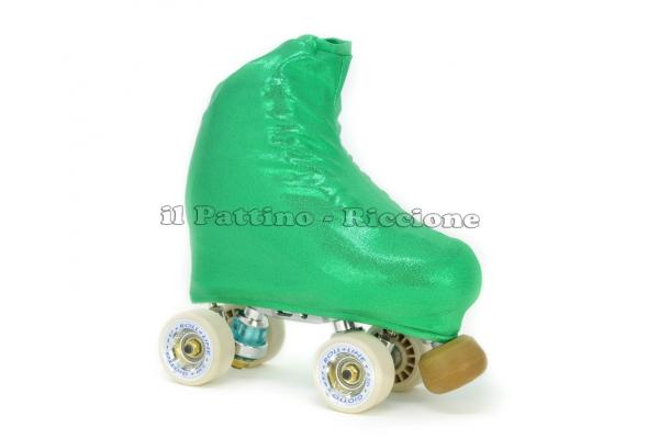 Cubre patines color esmeralda metal