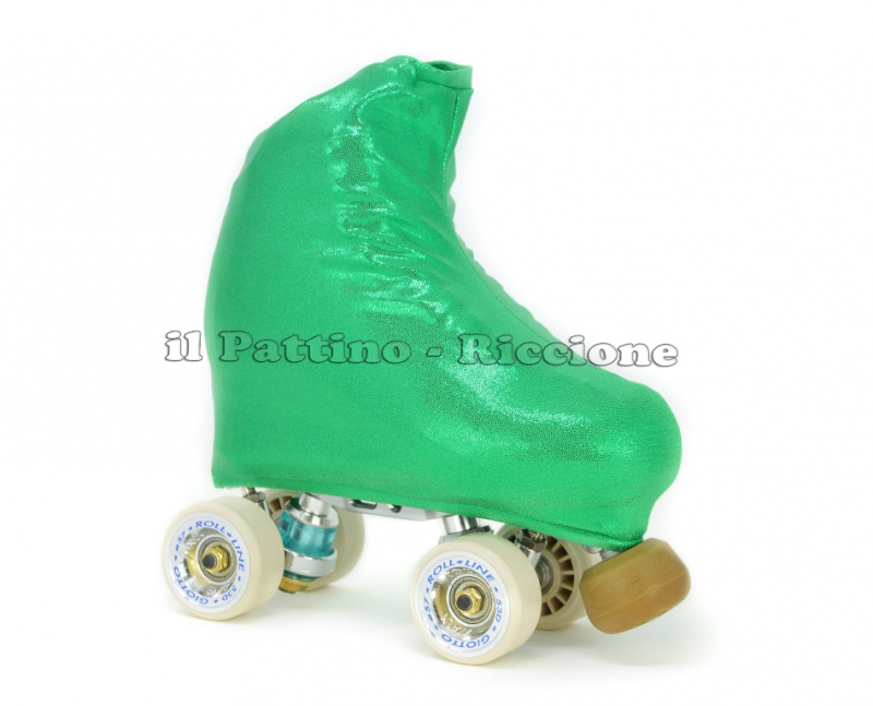 Cubre patines color esmeralda metal