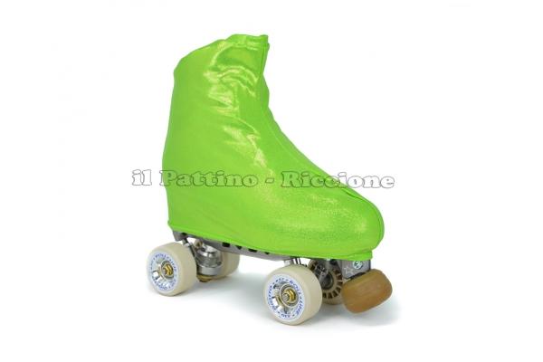 Cubre patines color verde metalizado