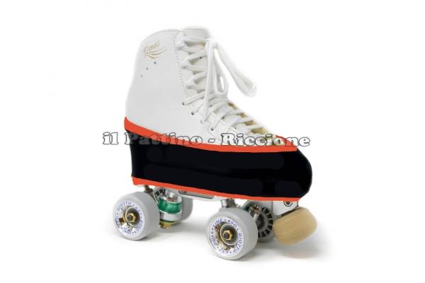 Cubre patines Salvapuntas Naranja Fluo