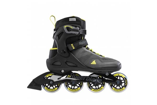 Patines en línea Rollerblade Macroblade 80 negro / amarillo
