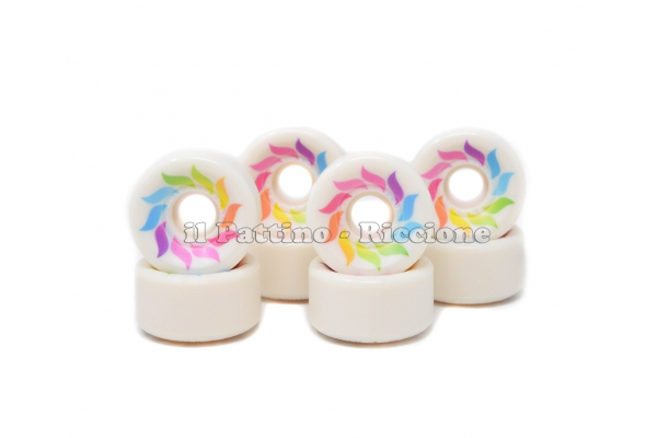Ruedas Star Design CS 40 diam. 57 mm Blanca
