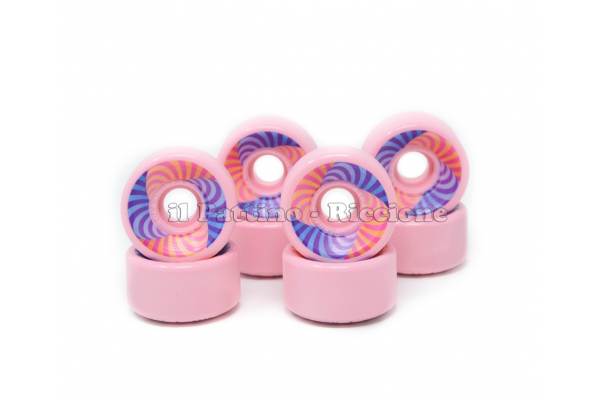 Ruedas Star Design HD 70 diam. 57 mm Rosa