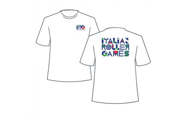 Camiseta de manga corta IRG Italian Roller Games – Hombre